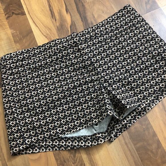Cynthia Rowley Pants - Cynthia Rowley Size 12 Beige Printed Shorts